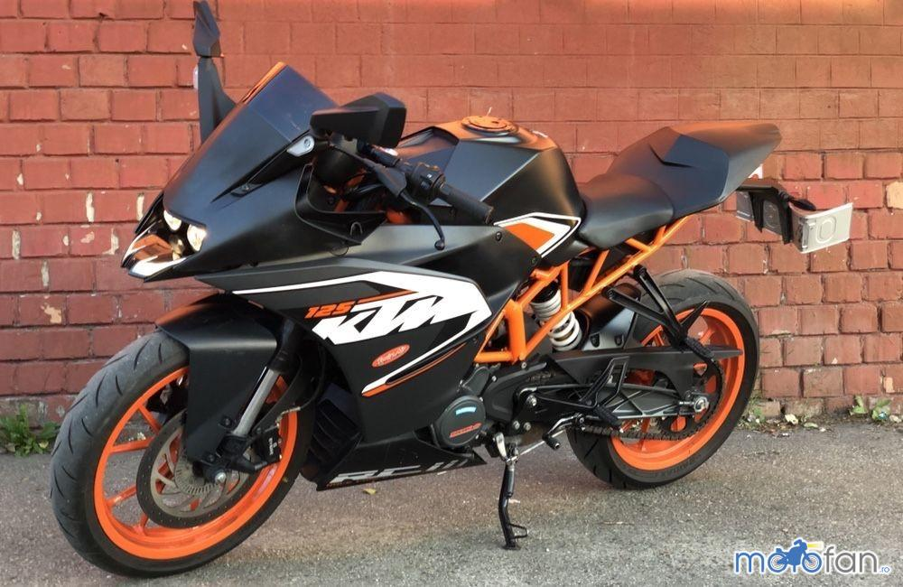 KTM RC 125 ABS Duke
