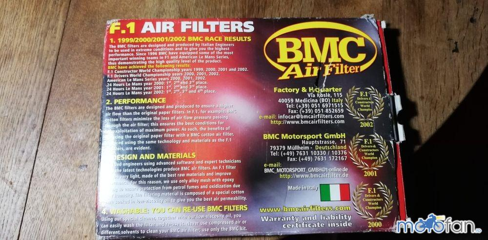 Filtre aer Pipercoss si BMC
